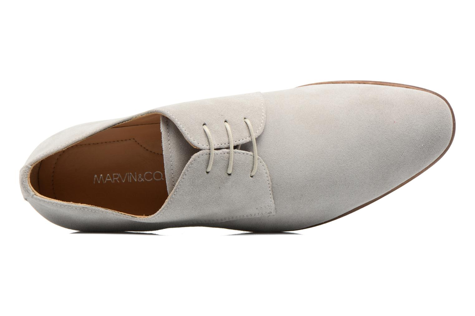 Lace-up shoes Marvin&co Nordrich Grey view from the left