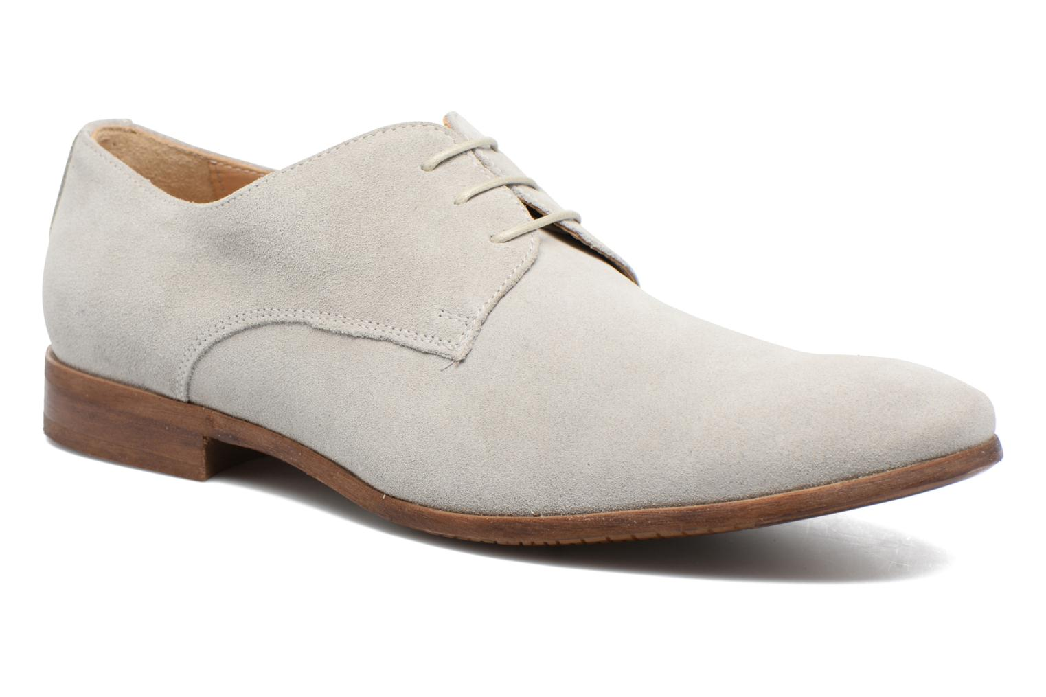Lace-up shoes Marvin&co Nordrich Grey detailed view/ Pair view