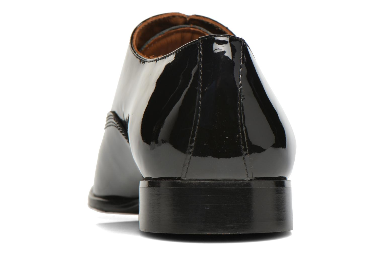 Zapatos con cordones Marvin&Co Nottoning Negro vista lateral derecha