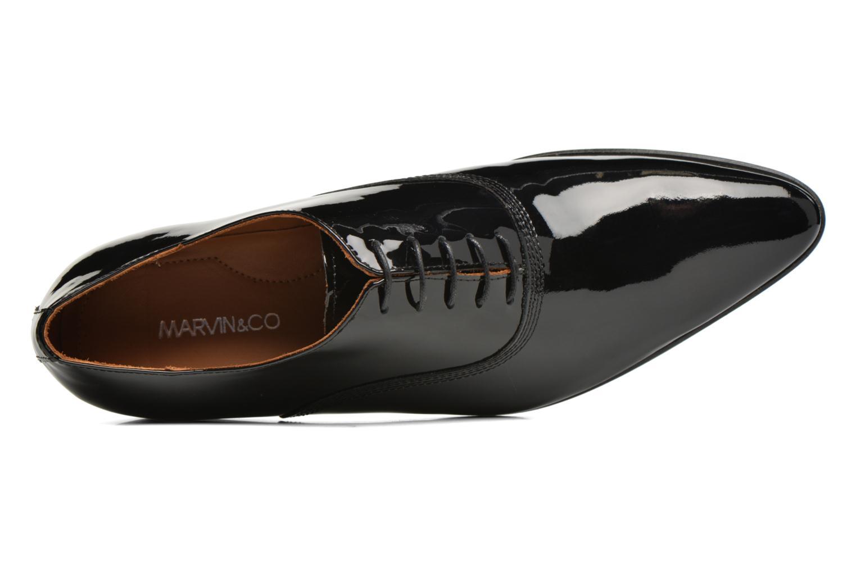 Zapatos con cordones Marvin&Co Nottoning Negro vista lateral izquierda
