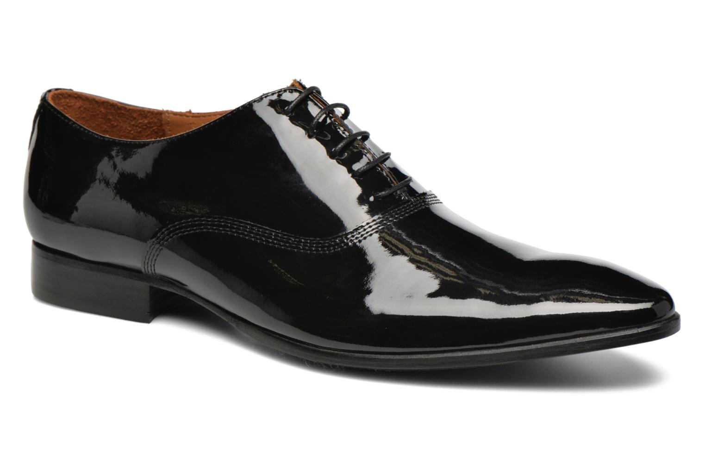 Zapatos con cordones Marvin&Co Nottoning Negro vista de detalle / par