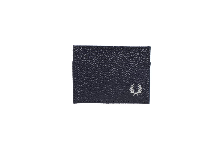 Petite Maroquinerie Fred Perry Scotch grain Card Holder Bleu vue détail/paire