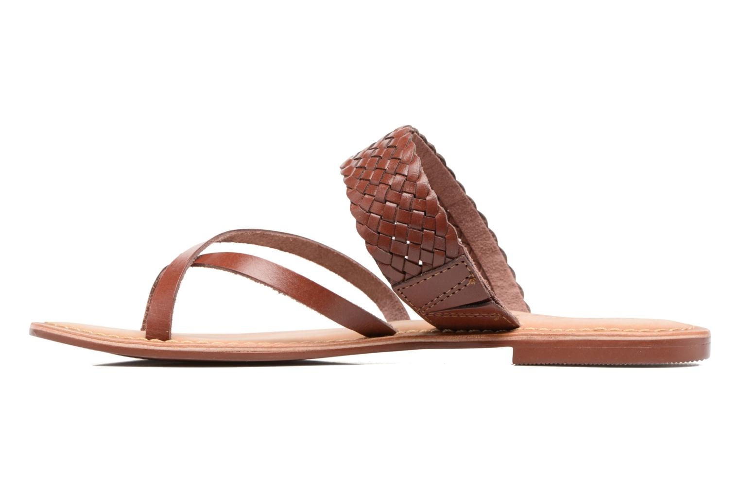 Malva Leather Sandal Henna