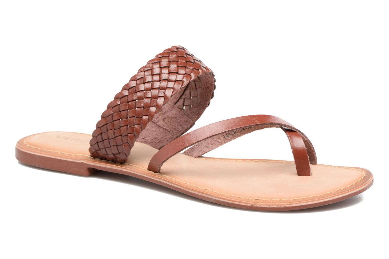 Malva Leather Sandal Henna