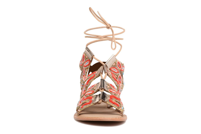 Sandales et nu-pieds Vero Moda Maya Leather Sandal Multicolore vue portées chaussures