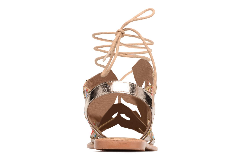 Sandales et nu-pieds Vero Moda Maya Leather Sandal Multicolore vue droite