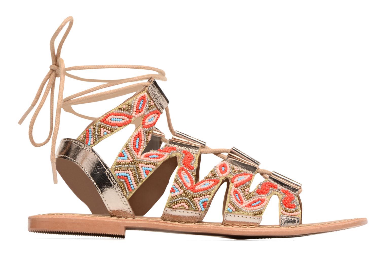 Sandales et nu-pieds Vero Moda Maya Leather Sandal Multicolore vue derrière