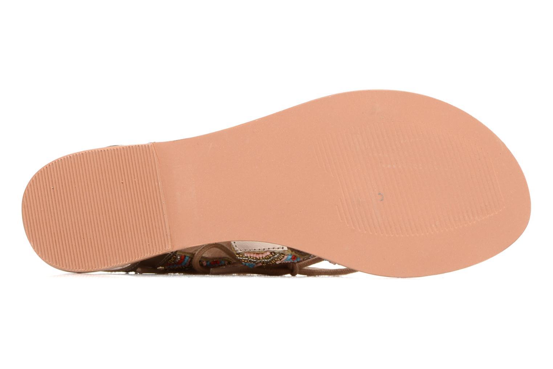 Sandales et nu-pieds Vero Moda Maya Leather Sandal Multicolore vue haut