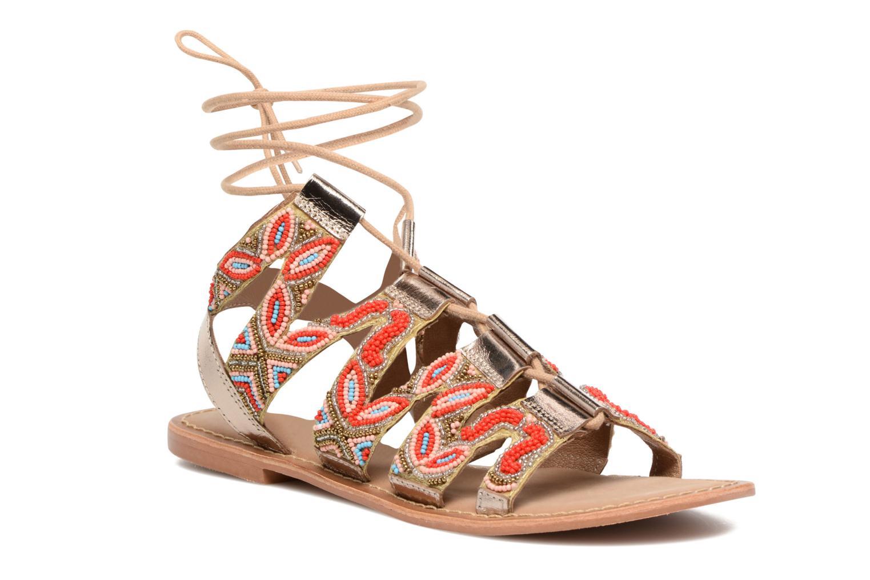 Sandales et nu-pieds Vero Moda Maya Leather Sandal Multicolore vue détail/paire