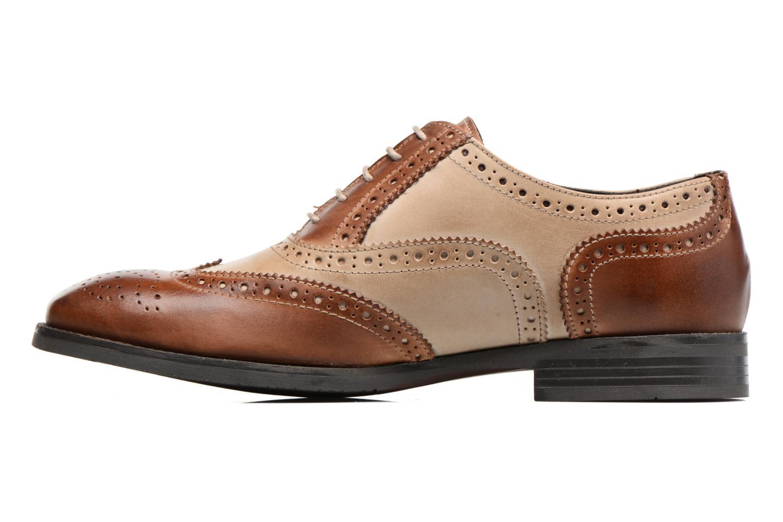Chaussures à lacets Marvin&Co Noylow Marron vue face