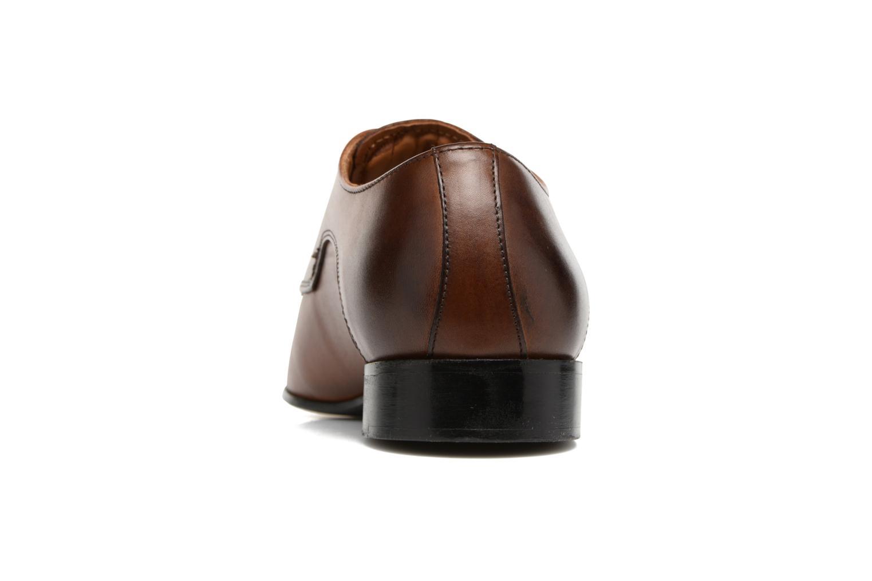 Chaussures à lacets Marvin&Co Newlyn Marron vue droite