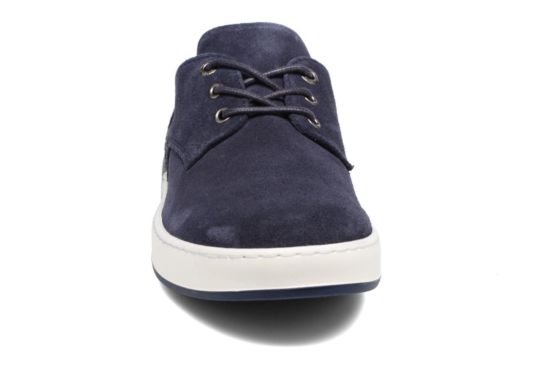 Baskets Aigle Lonriver Low Bleu vue portées chaussures
