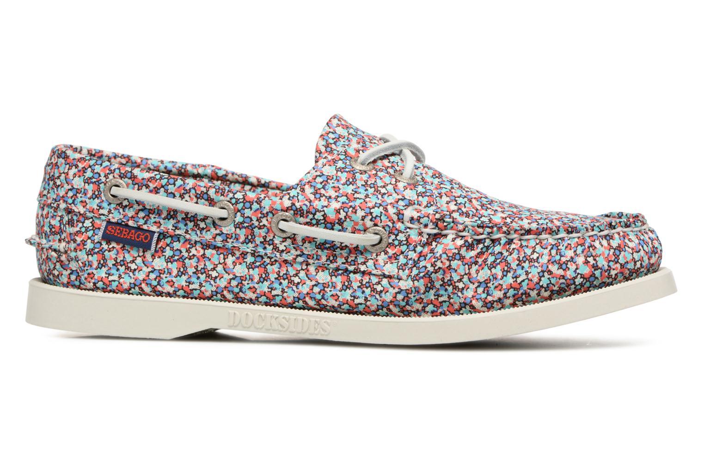 Chaussures à lacets Sebago Docksides Liberty Multicolore vue derrière