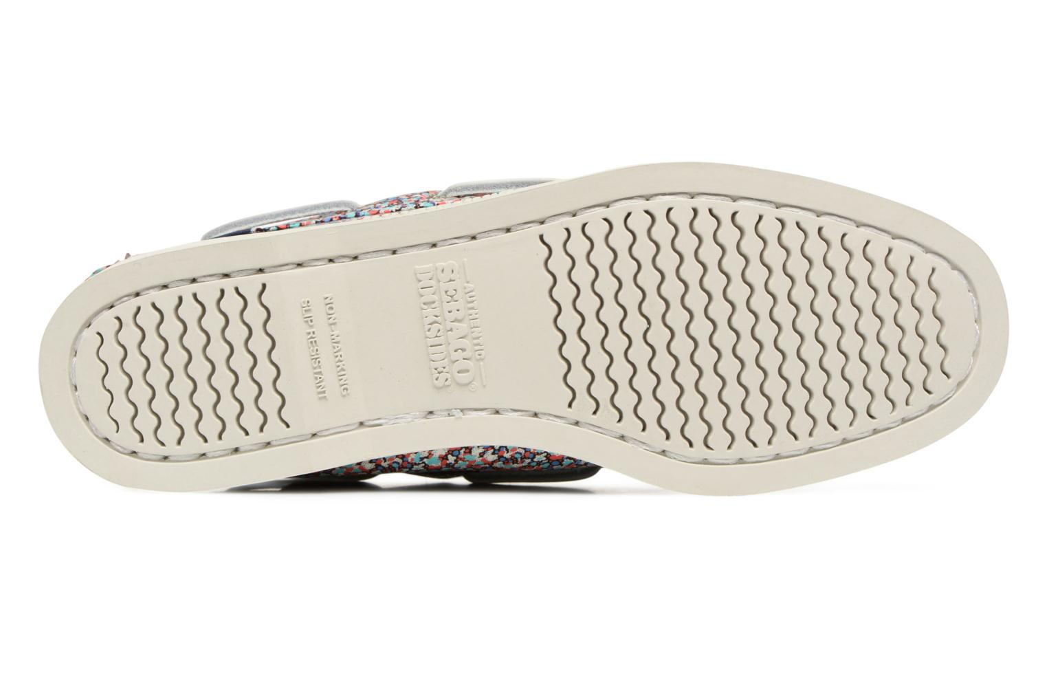 Lace-up shoes Sebago Docksides Liberty Multicolor view from above
