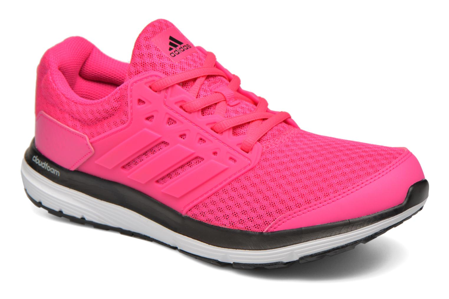 Sport shoes Adidas Performance galaxy 3.1 w Pink detailed view/ Pair view