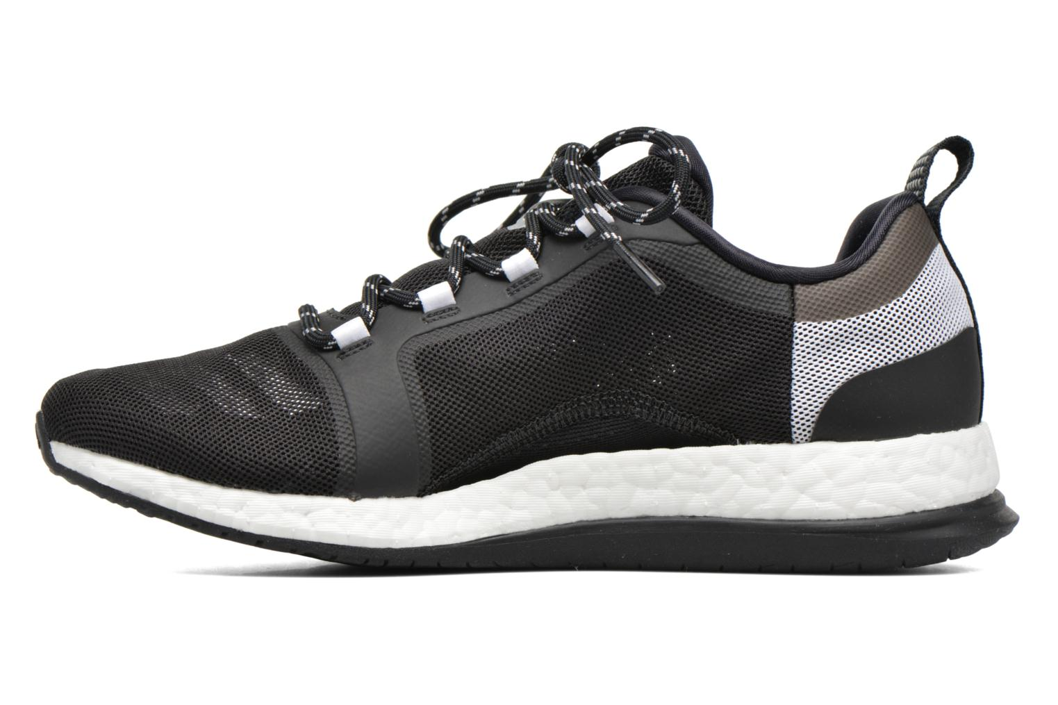 Sport shoes Adidas Performance PureBOOST X TR 2 Black front view