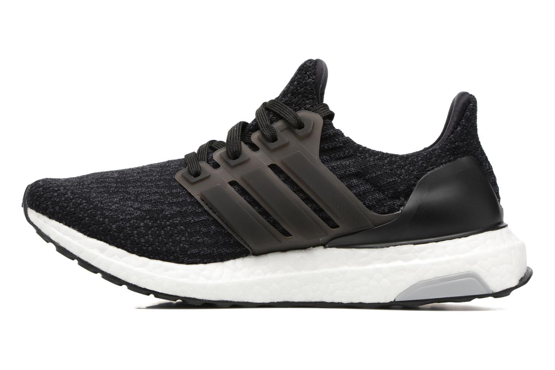 Chaussures de sport Adidas Performance UltraBOOST w Noir vue face