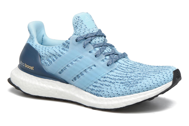 Chaussures de sport Adidas Performance UltraBOOST w Bleu vue détail/paire