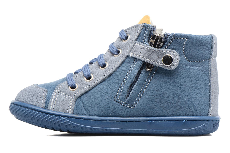 Bottines et boots Primigi Augusto Bleu vue face