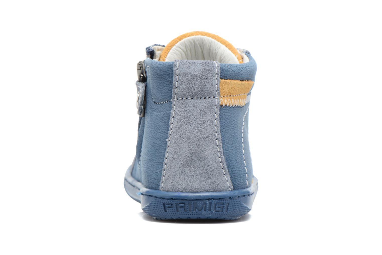 Bottines et boots Primigi Augusto Bleu vue droite