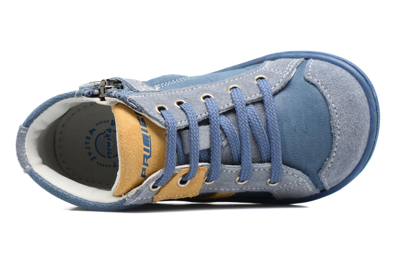 Bottines et boots Primigi Augusto Bleu vue gauche