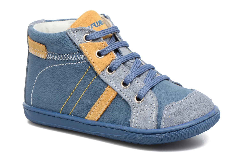 Bottines et boots Primigi Augusto Bleu vue détail/paire