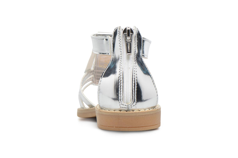 Sandales et nu-pieds Primigi Vittoria Argent vue droite