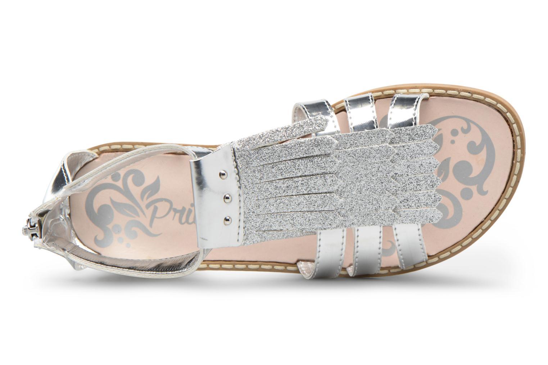 Sandales et nu-pieds Primigi Vittoria Argent vue gauche