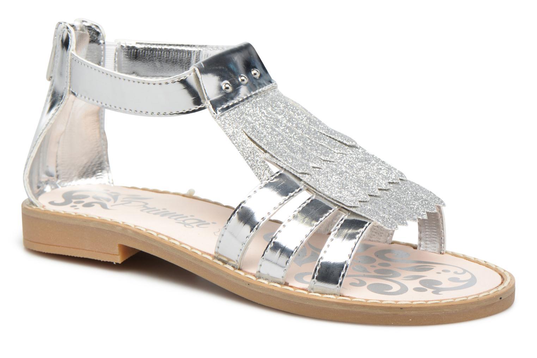 Sandals Primigi Vittoria Silver detailed view/ Pair view