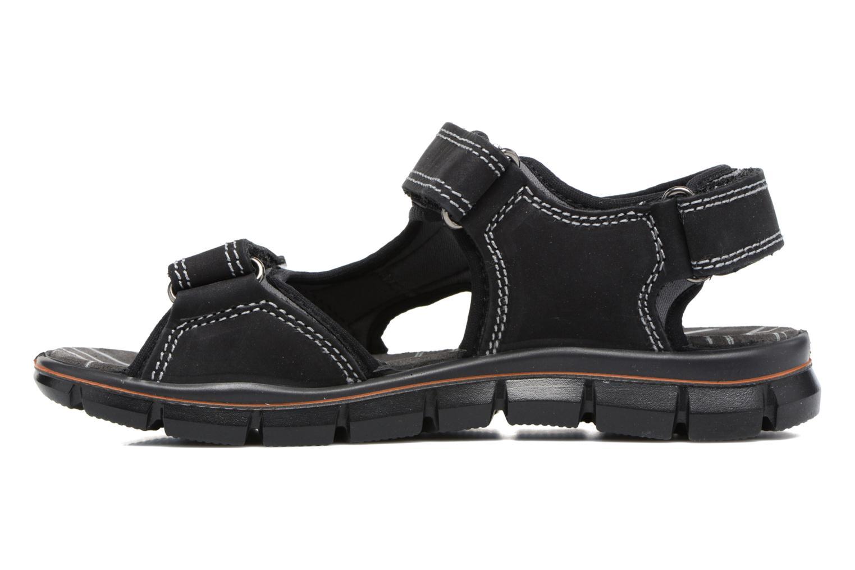 Sandales et nu-pieds Primigi Rico Noir vue face