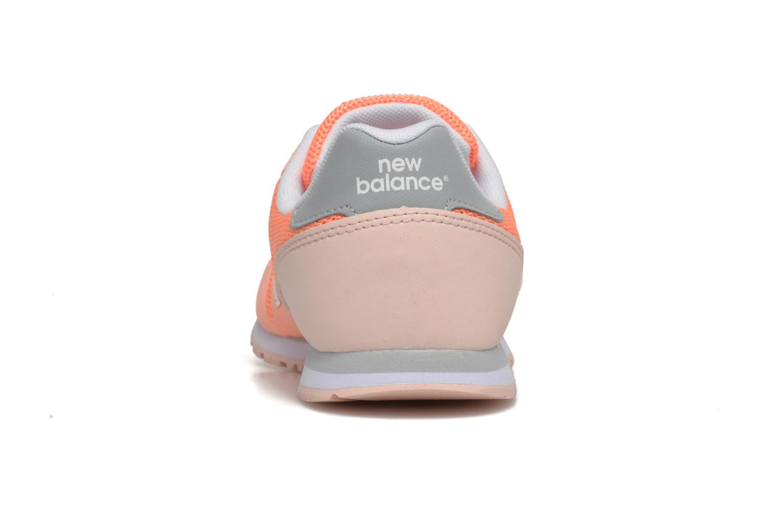 Trainers New Balance KD373 J Orange view from the right