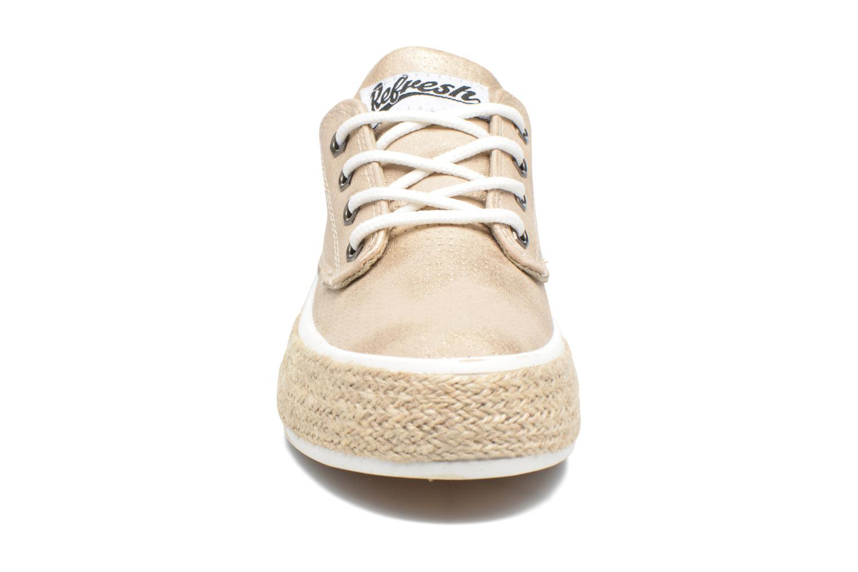 Chaussures à lacets Refresh Hoke Or et bronze vue portées chaussures
