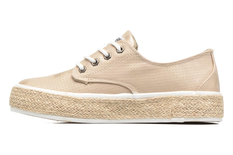 Chaussures à lacets Refresh Hoke Or et bronze vue face