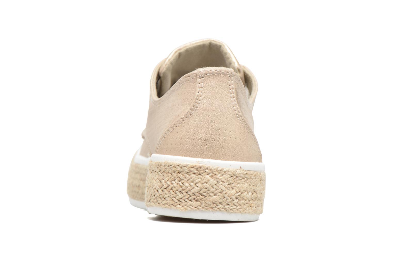Chaussures à lacets Refresh Hoke Or et bronze vue droite