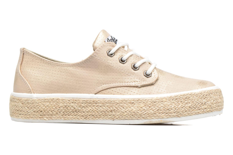 Chaussures à lacets Refresh Hoke Or et bronze vue derrière