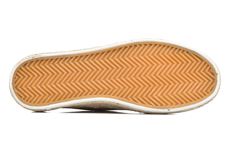 Chaussures à lacets Refresh Hoke Or et bronze vue haut