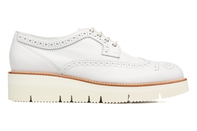 Chaussures à lacets Santoni Siby 55519 Beige vue derrière