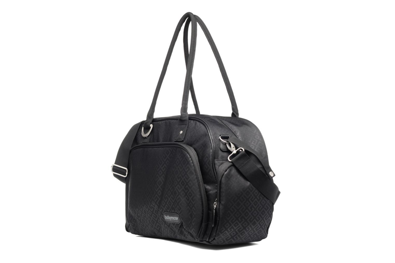 Sacs à main Babymoov Trendy Bag Puericulture Noir vue portées chaussures