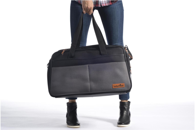 Handtaschen Babymoov Sac à Langer Traveller Bag schwarz ansicht von oben