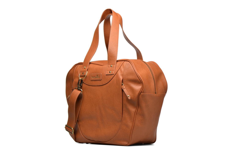 Handtaschen Babymoov Sac City Puericulture braun schuhe getragen