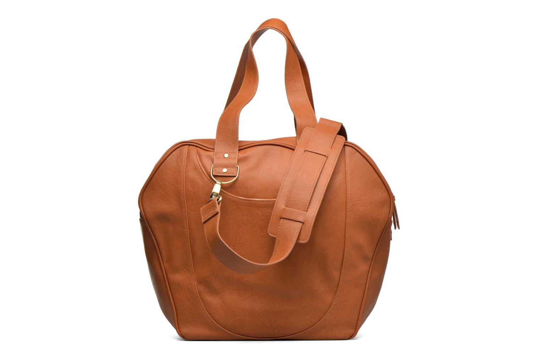Handtaschen Babymoov Sac City Puericulture braun ansicht von vorne