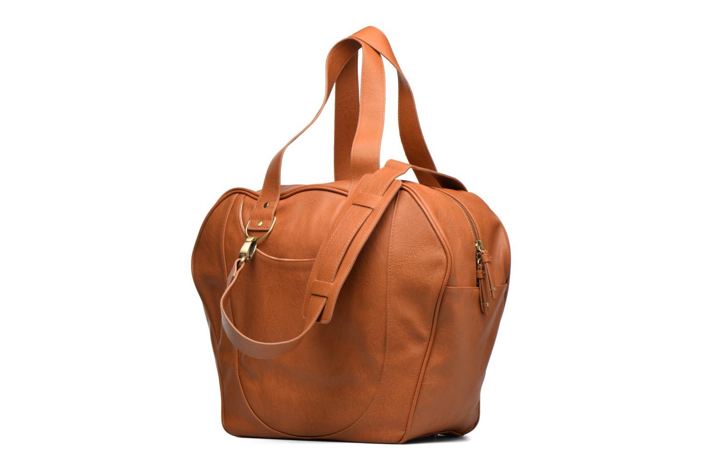 Handtaschen Babymoov Sac City Puericulture braun ansicht von rechts