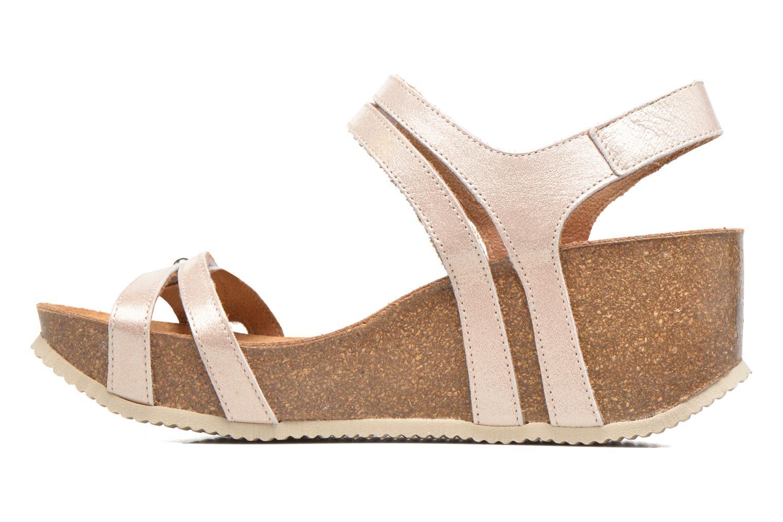 Sandales et nu-pieds Rondinaud Benovie Rose vue face
