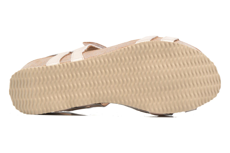 Sandales et nu-pieds Rondinaud Benovie Rose vue haut