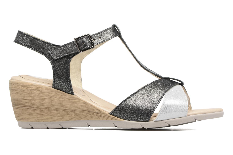 Sandales et nu-pieds Rondinaud Coise Noir vue derrière