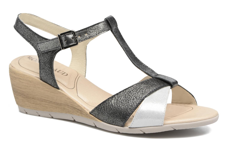 Sandales et nu-pieds Rondinaud Coise Noir vue détail/paire