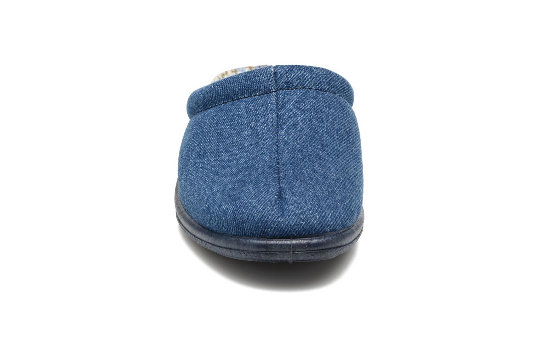 Chaussons Rondinaud Etagnac Bleu vue portées chaussures