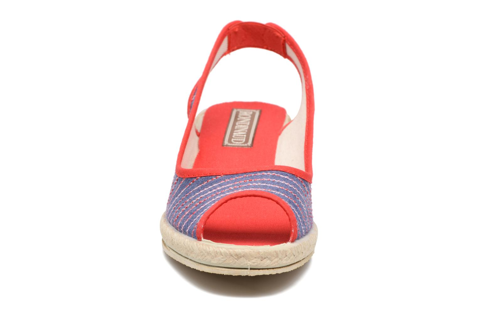 Espadrilles Rondinaud Lidoire Red model view
