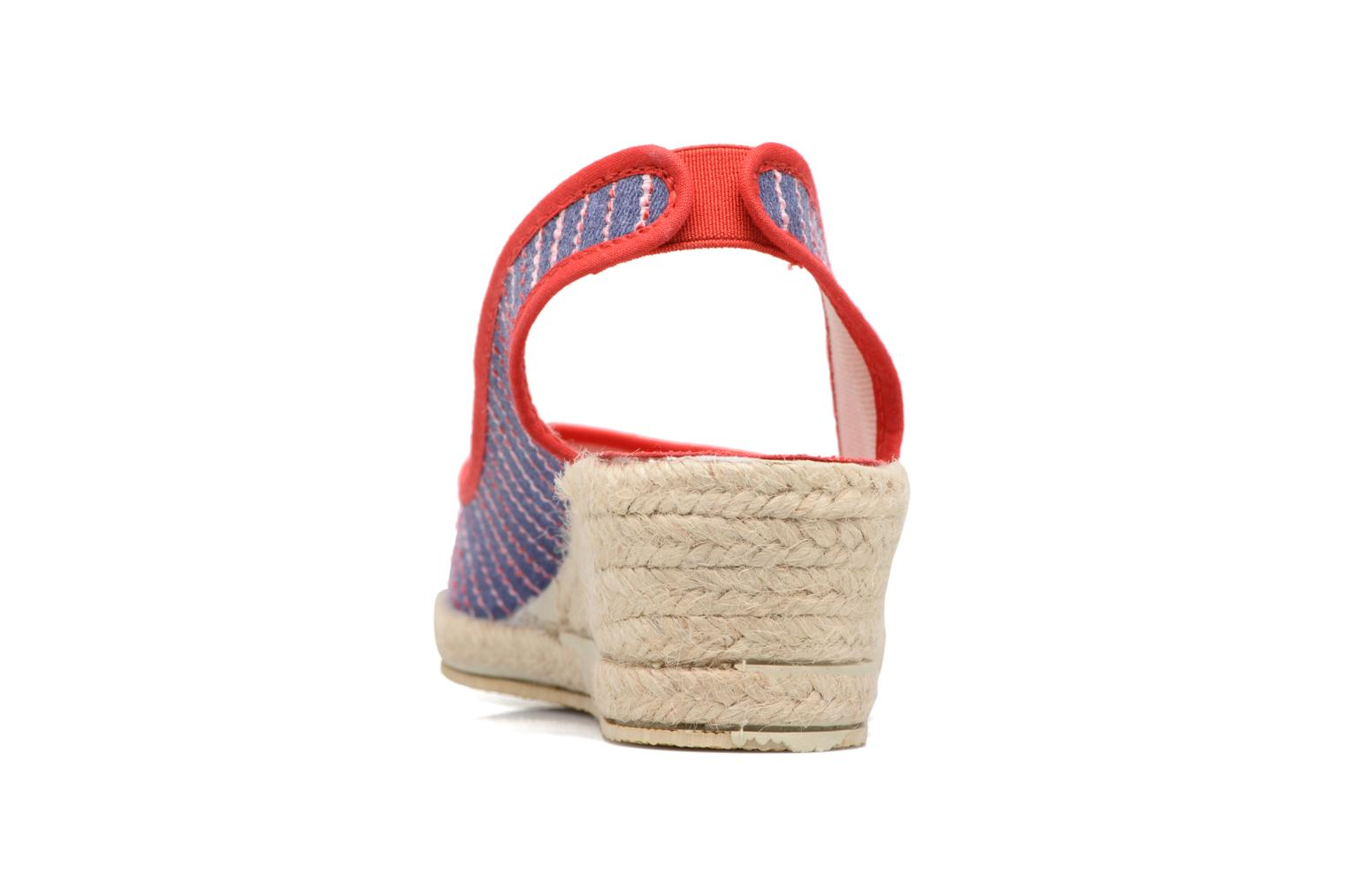 Espadrilles Rondinaud Lidoire Red view from the right