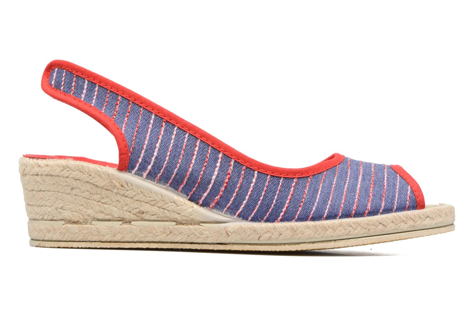 Espadrilles Rondinaud Lidoire Red back view